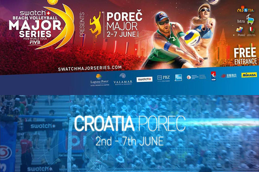 World's Best Beach Volleyball Players Coming To Poreč in June